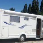 camping car au camping de monredon