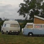 VW combi au camping de monredon