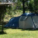 emplacement tente au camping de monredon